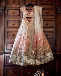 Bridal blouse, Lengha and shoes with bridal dupatta. A perfect Indian bridal dress Indian Bridal Wear, Indian Wedding Outfits, Pakistani Outfits, Bridal Outfits, Indian Outfits, Indian Reception Outfit, Indian Clothes, Lehenga Reception, Bride Indian