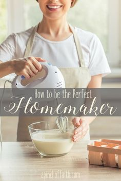 HOW TO BE THE PERFECT HOMEMAKER january 3, 2017  Scrolling through Pinterest is now a daily activity of the average homemaker in America. Around 42 million women have Pinterest accounts and are actively scrolling through pins on a daily basis. (source) From recipes, to craft ideas, to home decor and parenting, Pinterest has been a online hub for women for quite a few years. And for the last few years, Pinterest has become a place of online competition for women.