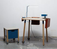 "Fredrik Paulsen made this ""Minimal Workstation"", it was by far the best thing during Stockholm Furniture Fair 2011"