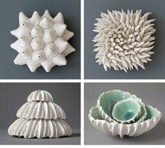 pottery bowls -- Click Visit link for more details Pottery Plates, Slab Pottery, Glazes For Pottery, Ceramic Pottery, Pottery Art, Pottery Sculpture, Sculpture Art, Sculptures, Glass Ceramic