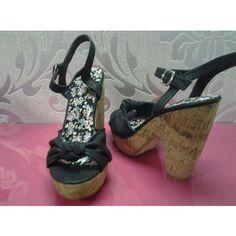 sandali alla moda colore nero - Sandale Colore