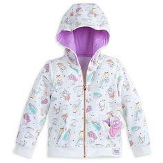 Disney Store Alice In Wonderland Hooded Sweatshirt - Girls Size:5/6 #Disney #Everyday