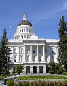 "Sacramento, California ""Capitol of California"" Elk Grove California, California State Capitol, California Dreamin', Northern California, California Republic, Sacramento Valley, Sacramento California, Wonderful Places, Great Places"