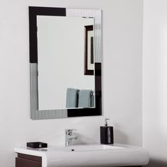 Art Exhibition Shop Decor Wonderland Jasmine Modern Bathroom Mirror at Lowe us Canada Find our selection of bathroom mirrors at the lowest price guaranteed with price