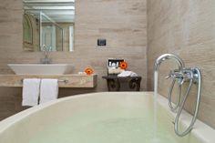 #JuniorSuite #Room with double or twin bed #bathroom   The Hotel La Villa del Re is located in Località su Cannisoni, Castiadas, #CostaRei #Sardegna   Next opening 2015 is scheduled on May 15th www.lavilladelre.com