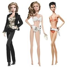 Bond girl Barbies   FOR THE 007 COLLECTOR: BOND GIRL BARBIES - Hollywood Celebrity and ...
