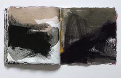 miklos szüts sketchbook  2013 watercolor on paper (58 pages)  20 x 20 x 2,5 cm