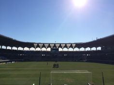 Fukuda Denshi Arena. One of the best football stadium in Japan. JEF Chiba's home stadium.