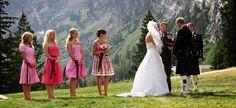 wedding party How to Choose the Right Alta Utah Wedding Venue for Summer Weddings Groom Wear, Bride Groom, Outdoor Ceremony, Wedding Ceremony, Wedding Venues Utah, Wedding Preparation, Bridesmaid Dresses, Wedding Dresses