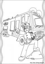 busy firefighter coloring pages | Coloring, Coloring pages and Firefighters on Pinterest