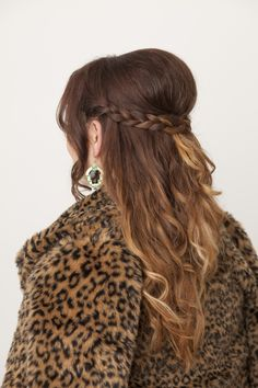 Festive hair with flair for ladies with long locks! #beauty