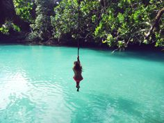 To rope swing into a body of water, preferably an exotic one. Summer Of Love, Summer Fun, Summer Time, Summer Goals, Summer Dream, Summer Nights, Jimi Hendrix, I Need Vitamin Sea, Mood