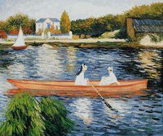 Renoir- Boating on the Seine