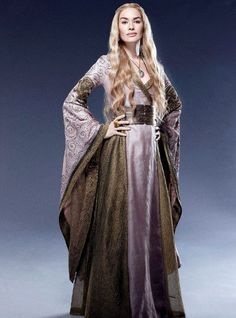 Cersei Lannister (Lena Headey) 'Game of Thrones' Season 2, 2012. Costume designed by Michele Clapton.