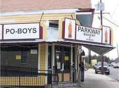 Parkway Bakery  Tavern. Oyster Po Boy