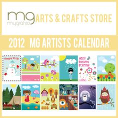 "Mygrafico 2012 free Artists Calendar is a way to say ""Thank You"" to all our customers and followers.   With this calendar, we wanted to share a piece of our vision , including 12 wonderful Designer graphics to enjoy during 2012.  Format: 1 PDF file ( 14 pages)"