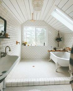 Home Interior Apartment .Home Interior Apartment Dream Bathrooms, Beautiful Bathrooms, White Bathrooms, Coolest Bathrooms, Fitted Bathrooms, All White Bathroom, Timeless Bathroom, Home Design, Design Ideas