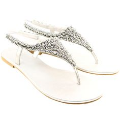 Beautiful wedding shoes with no heel! Just what I am looking for :)