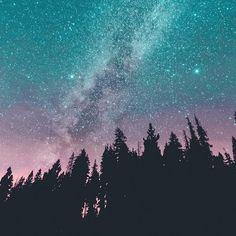 The Milky Way in the Sierra Nevada Mountains, California by Jordan Herschel