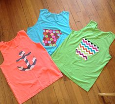 Must-have tanks for the summer! They make great cover- ups!