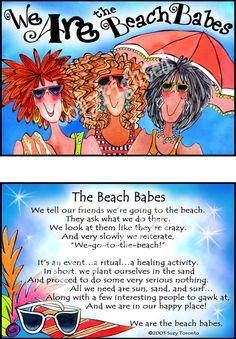 I'm such a beach babe!