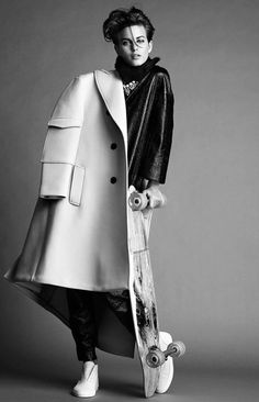 ellinore jimmy backius9 Ellinore Erichsen Rocks Androgynous Style for Madame Figaro by Jimmy Backius