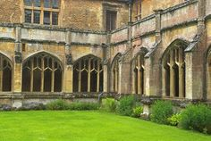 Stock photo of Lacock Abbey, Lacock, Wiltshire. Part of the UK Travel and Heritage Image Library from Britain Express, Wiltshire Collection