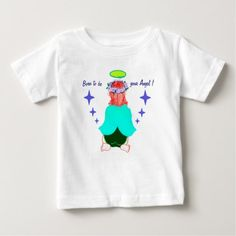 Kid's Shirt: Born to be your angel! Baby T-Shirt - kids kid child gift idea diy personalize design