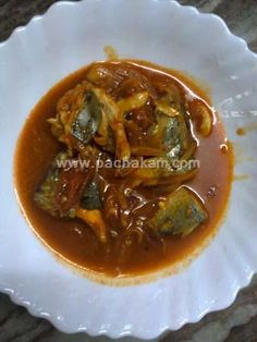 Traditional kerala side dish mainly had with kappa or kanji