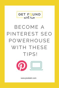 Learn how to use Pinterest SEO to drive traffic back to your blog