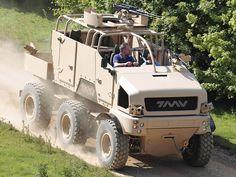 TMV 6x6 Special Forces/Reconnaissance 6x6 Vehicle