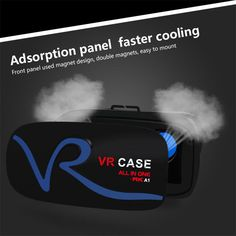 2017 New virtual reality 3D VR Glasses VR Case  headset Google Cardboard for 4.7~6.0inches smart phone 700 Myopia adjustment #Affiliate