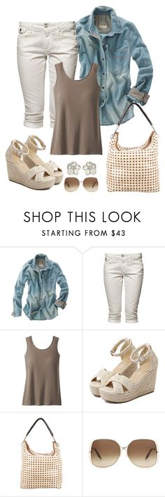 """""""Untitled #1040"""" by gallant81 ❤ liked on Polyvore featuring Madewell, Tommy Hilfiger, TravelSmith, WithChic, Marni, Victoria Beckham, Shaun Leane and plus size clothing"""