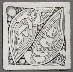 Mooka~Zentangle~Maria Thomas by alissa Tangle Doodle, Tangle Art, Doodles Zentangles, Zen Doodle, Zentangle Patterns, Doodle Patterns, Art Patterns, Beading Patterns, Doodle Art Journals