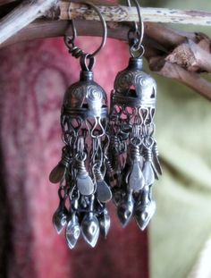 These are the kind of tribal earrings I love