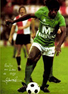 JACQUES ZIMAKO 1977-78 SAINT ETIENNE Saint Etienne, Saints, Football, Baseball Cards, Soccer, Futbol, American Football, Soccer Ball