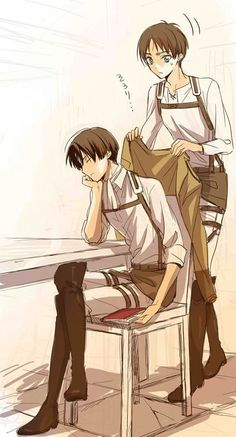 Heichou must be cold.
