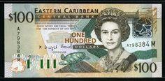 World Bank Notes & Coins : 100 Eastern Caribbean Dollar