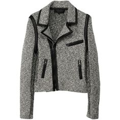 Hart Biker Jacket (€530) ❤ liked on Polyvore featuring outerwear, jackets, coats, abrigos, chaquetas, reversible jacket, biker jacket, motorcycle jacket, rag bone jacket and rag & bone