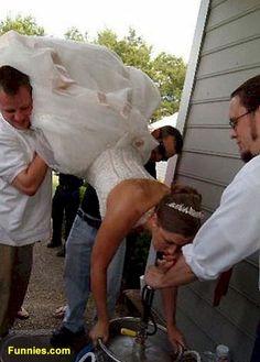 The Redneck Wedding Reception