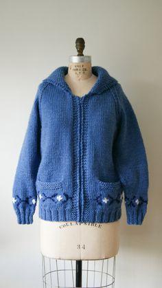Vintage Sweater. 70s Cowichan Sweater. by NewOldFashionVintage