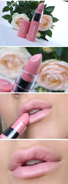 butter lipstick in 'hubba bubba'.