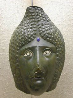 Female Mask Type Straubing, corresponds to Robinson Cavalry Sports E, Eining,  3rd century