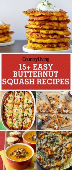 These recipes will make you fall in love with butternut squash. Add butternut squash to your next dinner with a black bean and butternut squash enchilada casserole. This casserole is full of spicy goodness and uses butternut squash as the perfect fall ingredient!