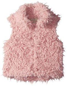 Little Girls' Faux Shearling Vest