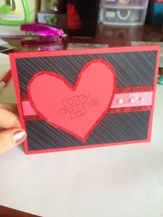 Valentine's card - made by Melrose