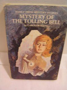 Nancy Drew The Mystery Of The Tolling Bell #23 1973 Carolyn Keene HC