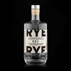 Kyrö Distillery Company by Werklig, 2014. Scope: #branding & #packaging #design