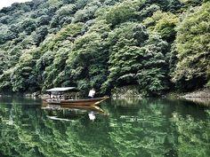 Oigawa River in Kyoto