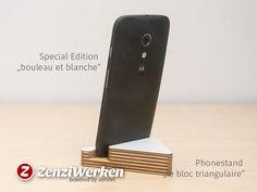 ZenziWerken | Smartphonehalter Birch Plywood